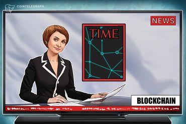 """La rivista americana Time inserisce una startup blockchain nella sua classifica """"Top 50 Genius Companies 2018"""""""