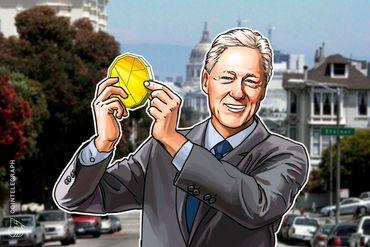 「金の卵を生むガチョウを殺さないように」クリントン元大統領 仮想通貨リップルのイベントで発言