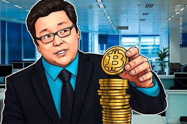 仮想通貨強気派のトム・リー氏、市場急落でもビットコイン価格1万5000ドルの予測を維持