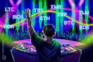 Kursanalyse, 9. November: Bitcoin, Ethereum, Ripple, Bitcoin Cash, EOS, Stellar, Litecoin, Cardano, Monero, TRON