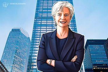 La direttrice dell'FMI Christine Lagarde ha appoggiato l'idea di criptovalute distribuite da una banca centrale