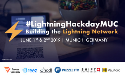 Bitcoin Lightning Network Hackday Munich in the crypto calendar by Coin360: Blockchain conferences, Cryptocurrency forums, Summits and Other events