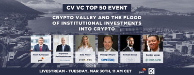 Crypto Valley and the flood of institutional investors