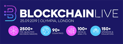 Blockchain Live in the crypto calendar by Coin360: Blockchain conferences, Cryptocurrency forums, Summits and Other events