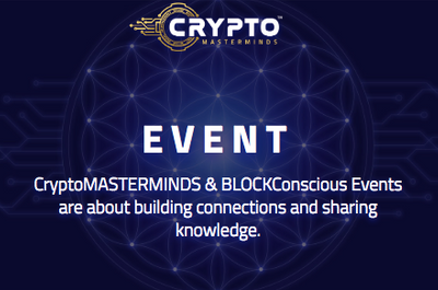 BLOCKCONSCIOUS SUMMIT 2019 in the crypto calendar by Coin360: Blockchain conferences, Cryptocurrency forums, Summits and Other events