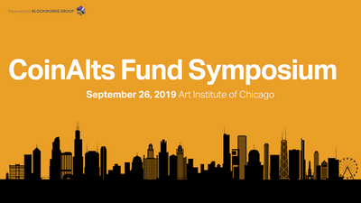 CoinAlts Fund Symposium 2019 in the crypto calendar by Coin360: Blockchain conferences, Cryptocurrency forums, Summits and Other events