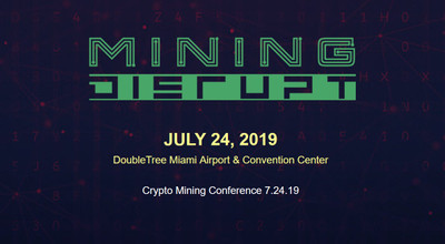 Mining Disrupt 2019 in the crypto calendar by Coin360: Blockchain conferences, Cryptocurrency forums, Summits and Other events