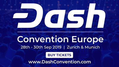 Dash Convention Europe in the crypto calendar by Coin360: Blockchain conferences, Cryptocurrency forums, Summits and Other events