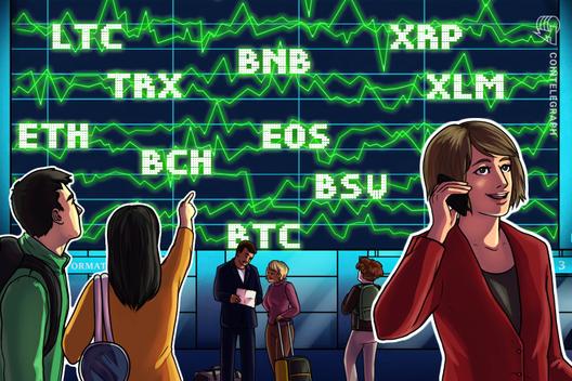 Price Analysis 25/10: BTC, ETH, XRP, BCH, LTC, EOS, BNB, BSV, XLM, TRX