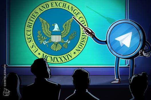 Telegram Responds to Investors on SEC Action, Hearing Set for Oct. 24
