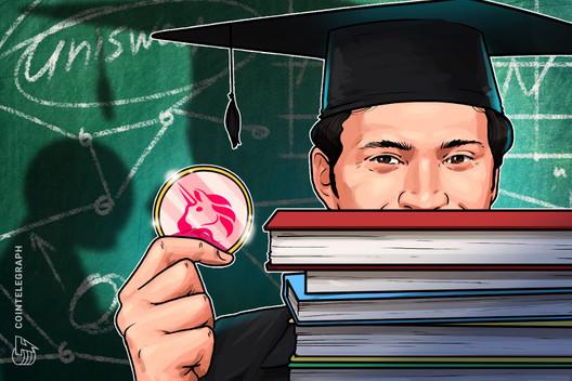 Grupo de estudiantes de la Universidad de California en Berkeley se convierte en el décimo mayor delegado de Uniswap