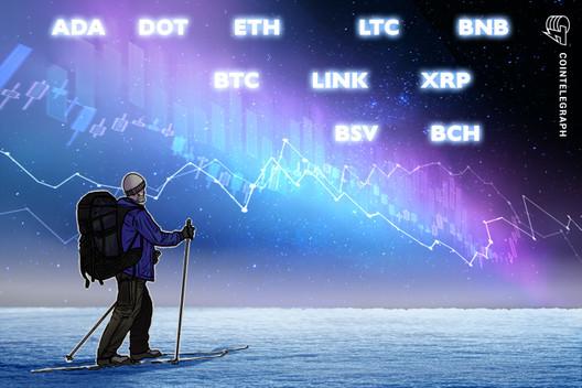 Análisis de precios al 1/1: BTC, ETH, XRP, LTC, DOT, BCH, ADA, BNB, LINK, BSV
