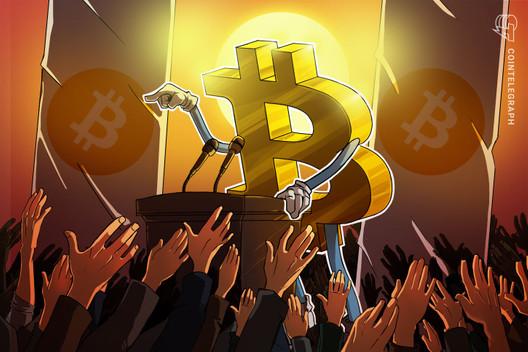 """Niederländischer Politiker hängt Wahlplakate auf: """"Bitcoin ist die Zukunft"""""""
