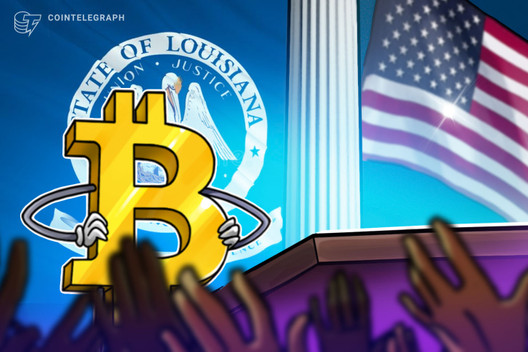 El gobierno de Louisiana da el visto bueno a Bitcoin