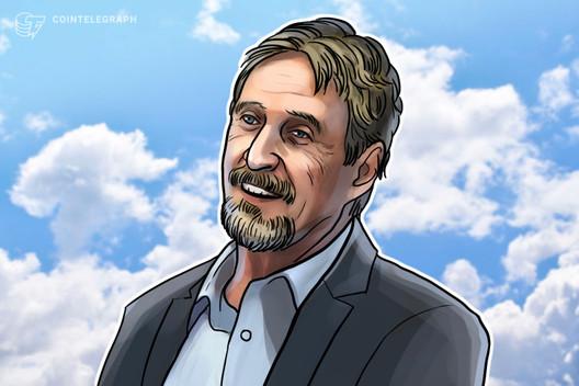 Softwareentwickler und Bitcoin-Fan John McAfee verstirbt im Alter von 75 Jahren