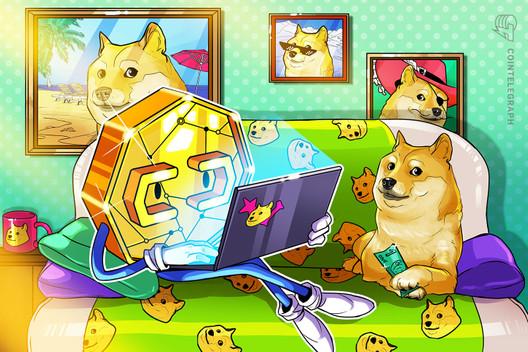 Originalfoto des Dogecoin-Logos für 4 Mio. US-Dollar als NFT versteigert