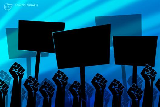 El Salvadorianer demonstrieren gegen Bitcoin-Gesetz