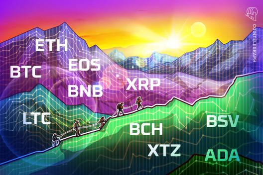 Price Analysis 5/29: BTC, ETH, XRP, BCH, BSV, LTC, BNB, EOS, XTZ, ADA