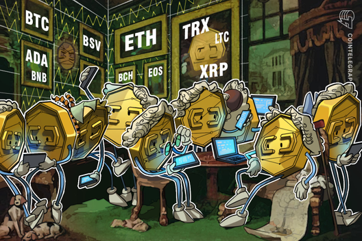 Price Analysis 26/06: BTC, ETH, XRP, BCH, LTC,  EOS, BNB, BSV, ADA, TRX, CryptoCoinNewsHub.com