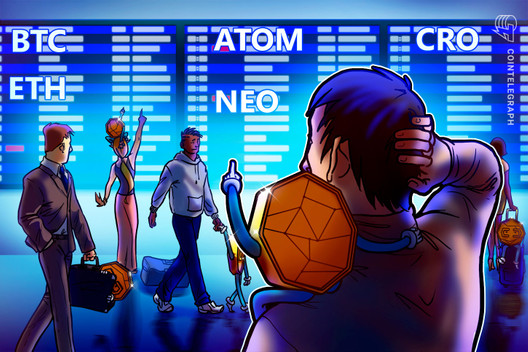 Top 5 Cryptocurrencies to Watch This Week: BTC, ETH, ATOM, NEO, CRO