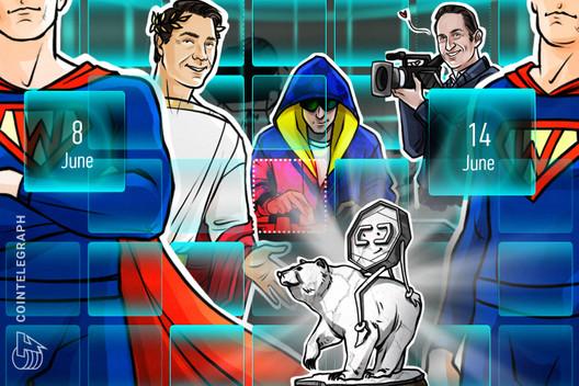 """BTC in Peril, Quadriga """"Ponzi,"""" Coinbase Punished: Hodler's Digest, June 8–14"""