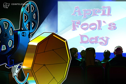 Crypto Community Embraces April Fools Day Pranks