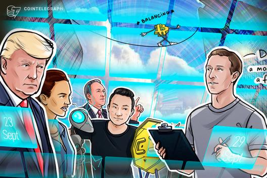 Crypto Carnage, Zuckerberg Admission, Royal BTC Scam: Hodler's Digest, Sept. 23–