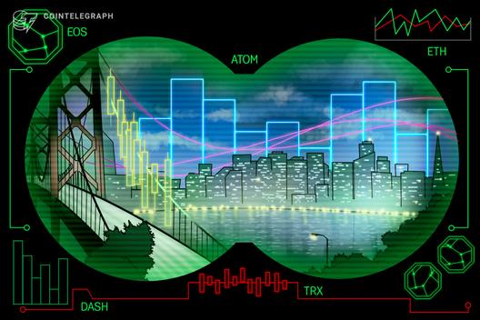 Top-5 Crypto Performers: ATOM, EOS, ETH, DASH, TRX
