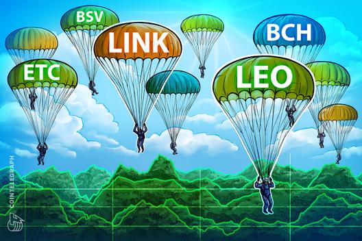 Top-5 Crypto Performers: LINK, LEO, BCH, ETC, BSV, OKB*, CryptoCoinNewsHub.com