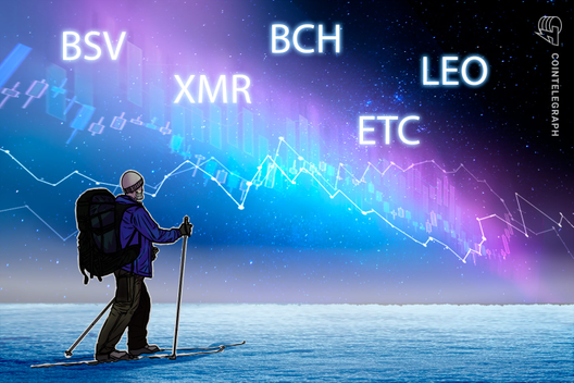 Top-5 Cryptos This Week (Jan 5): BSV, XMR, ETC, BCH, LEO