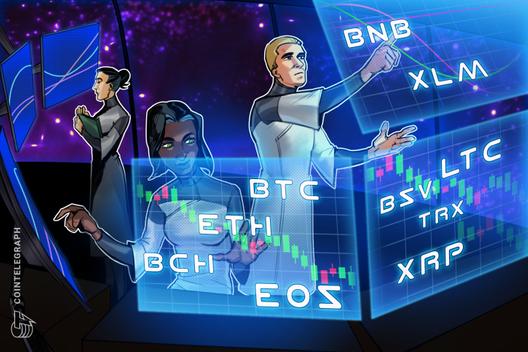 Price Analysis 25/11: BTC, ETH, XRP, BCH, LTC, EOS, BNB, BSV, XLM, TRX