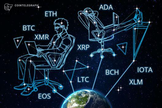 Bitcoin, Ethereum, Ripple, Bitcoin Cash, EOS, Stellar, Litecoin, Cardano, Monero, IOTA: Price Analysis, August 20