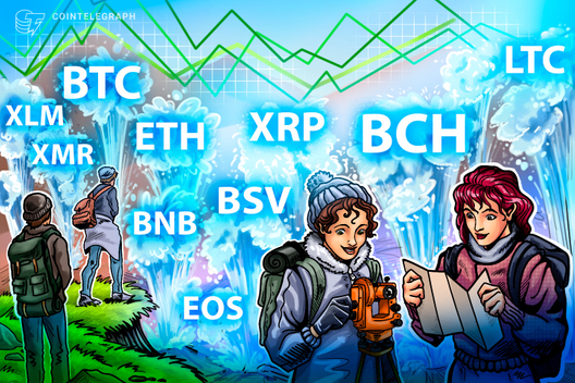 Price Analysis 23/08: BTC, ETH, XRP, BCH, LTC, BNB, EOS, BSV, XMR, XLM - CryptoUnify Advanced Cryptocurrencies Platform