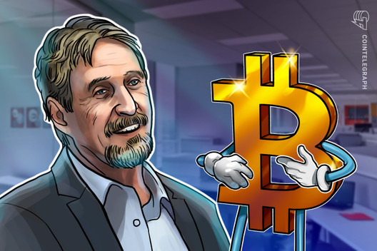John McAfee Calls His Own $1M Bitcoin Price Prediction 'Nonsense'