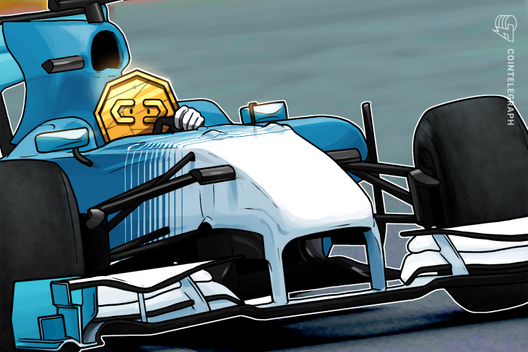Formula 1-Branded Blockchain Game to Auction Digital Race Car Tokens