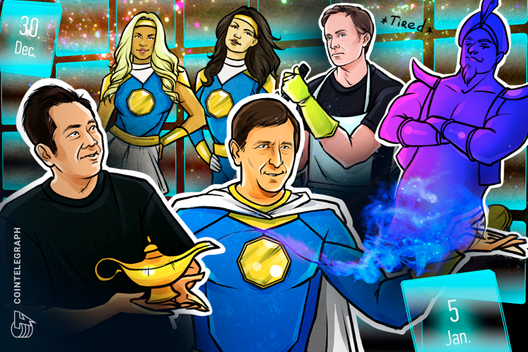 Telegram Attacks SEC, Bitmain Chaos, BTC 'Easily' $50K: Hodler's Digest, Dec. 30