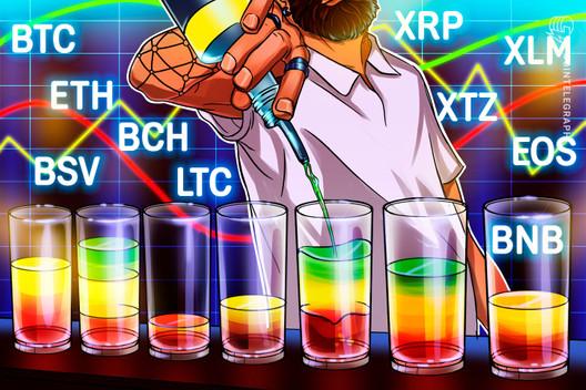 Price Analysis 5/15: BTC, ETH, XRP, BCH, BSV, LTC, BNB, EOS, XTZ, XLM