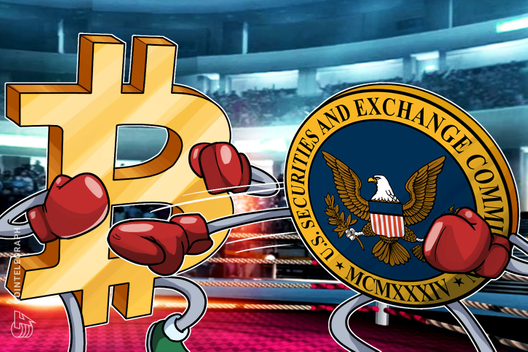 US SEC Chairman: BTC Won't be on Major Exchanges Until More Regulated