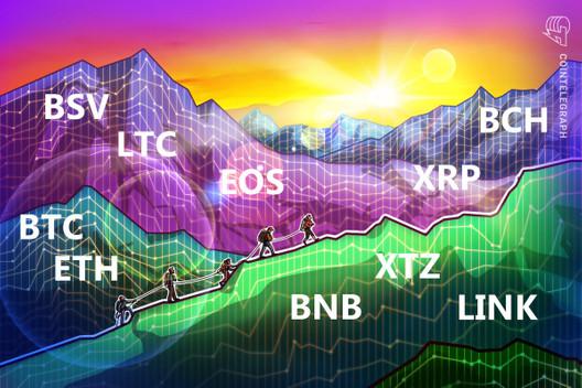 Price Analysis 4/24: BTC, ETH, XRP, BCH, BSV, LTC, EOS, BNB, XTZ, LINK