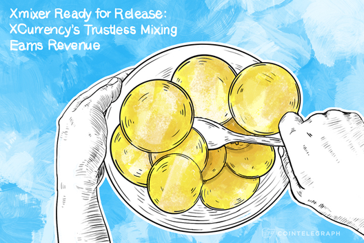 Xmixer Ready for Release: XCurrency's Trustless Mixing Earns Revenue