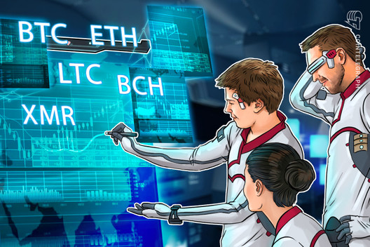Top 5 Crypto Performers Overview: BTC, ETH, BCH, LTC and XMR, CryptoCoinNewsHub.com