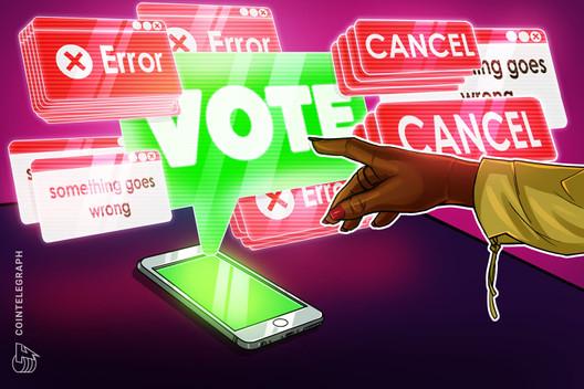 Los fallidos caucus de Iowa no arrojarán sombras sobre la votación de Blockchain 2