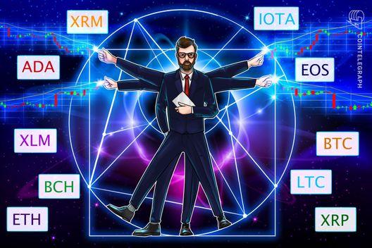 Bitcoin, Ethereum, Ripple, Bitcoin Cash, EOS, Stellar, Litecoin, Cardano, Monero, IOTA: Price Analysis, August 27