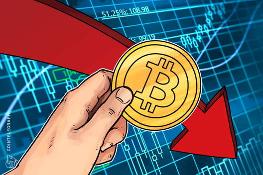 Bitcoin Price Suddenly Plummets to $7,500 – A New 5-Month Low