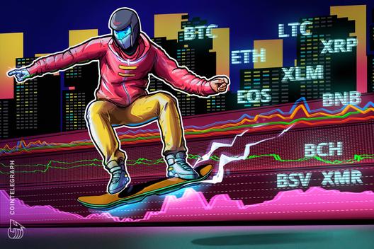 Price Analysis 21/08: BTC, ETH, XRP, BCH, LTC, BNB, EOS, BSV, XMR, XLM, CryptoCoinNewsHub.com