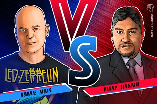 Ronnie Moas and Vinny Lingham Come to Blows Over $20K Bitcoin Bet