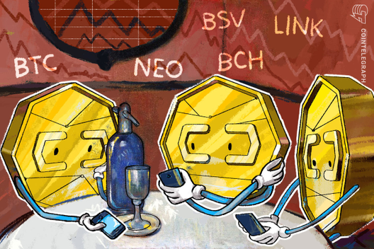 Top-5 Cryptos This Week: Bitcoin (BTC), NEO, BSV, BCH, LINK