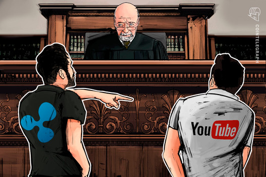 "Ripple Files Lawsuit Against YouTube: ""Enough is Enough"""