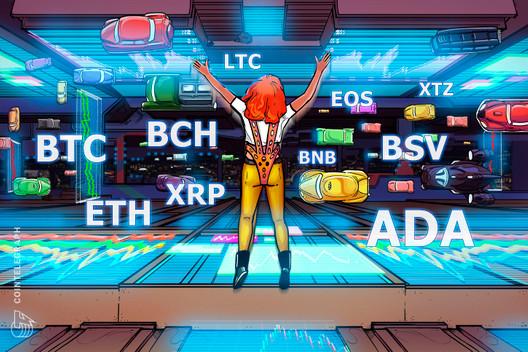 Price Analysis Feb 24: BTC, ETH, XRP, BCH, BSV, LTC, EOS, BNB, XTZ, ADA