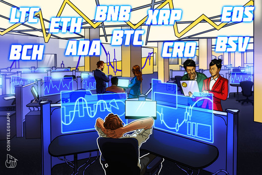 Price Analysis 7/1: BTC, ETH, XRP, BCH, BSV, LTC, BNB, ADA, CRO, EOS